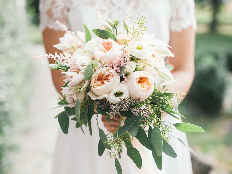 Hochzeitsfloristik - Blumenstrauß der Braut