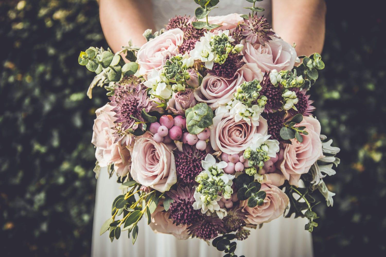 Hochzeitsfloristik - Hochzeitsstrauß der Braut